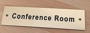 Conference room sign2