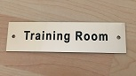 Training Room Sign2